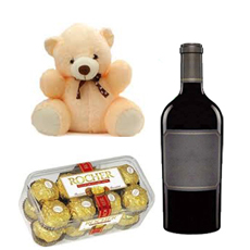 Fererro and Wine Hamper