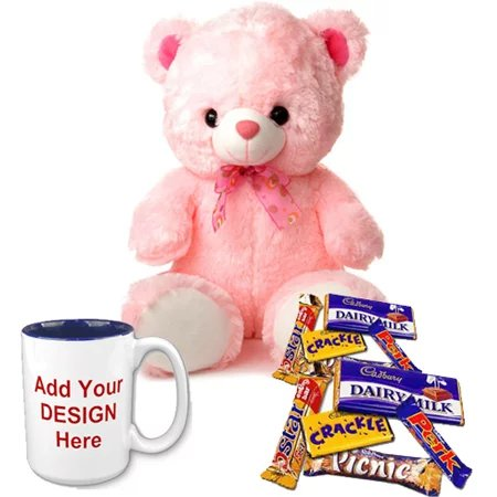Teddy and personalized Mug